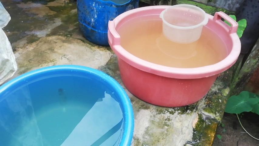 denuncian falta de agua