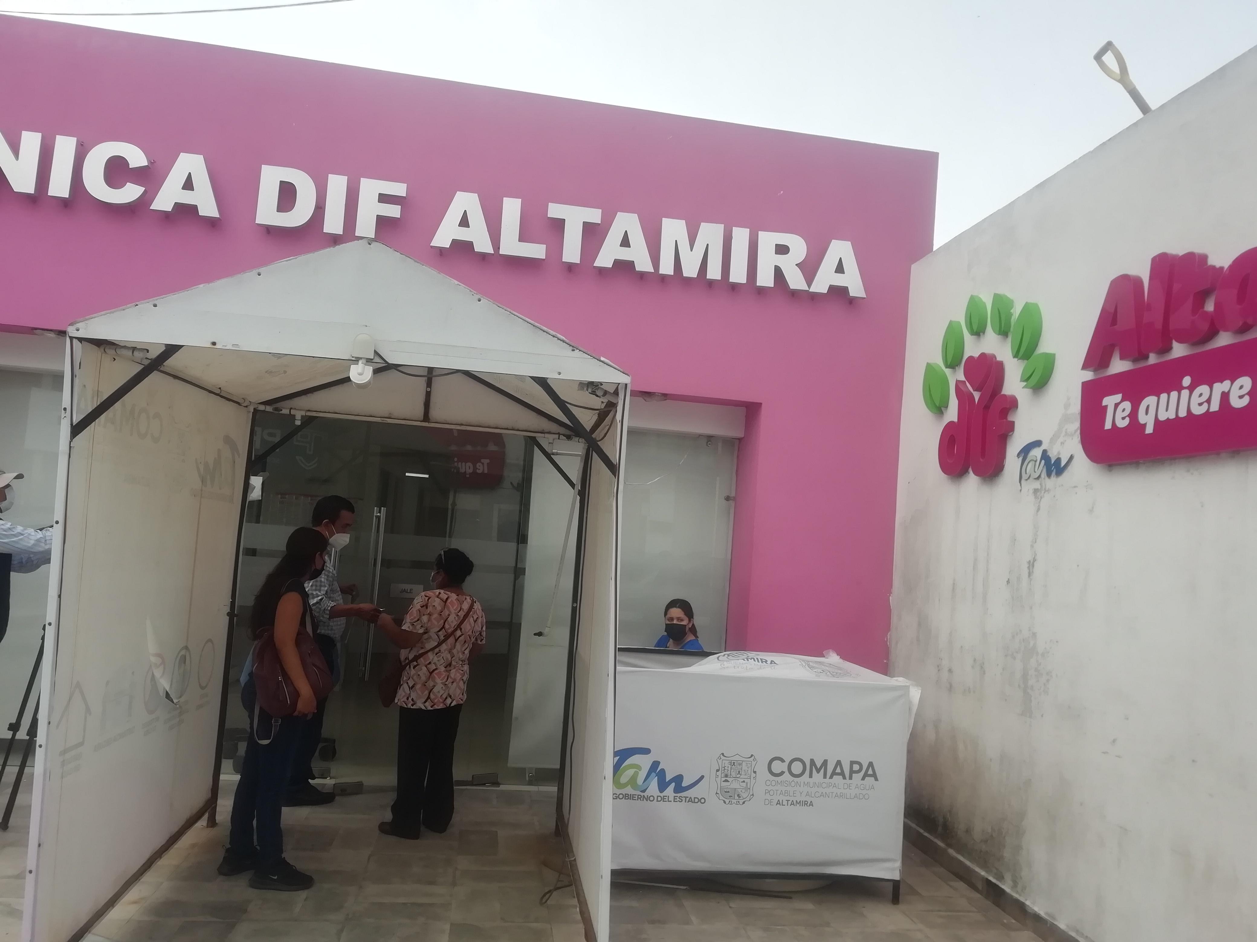 Aumento de atenciones médica en Altamira por Covid