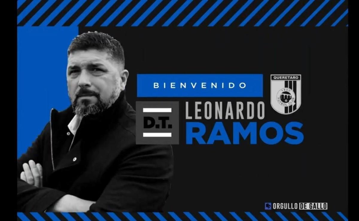Leonardo Ramos es el nuevo entrenador del Querétaro