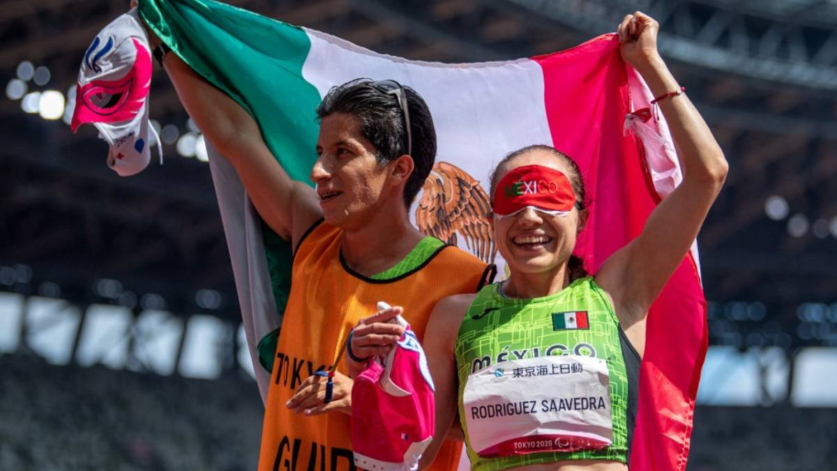Mónica Rodríguez ganó el oro en la final de atletismo