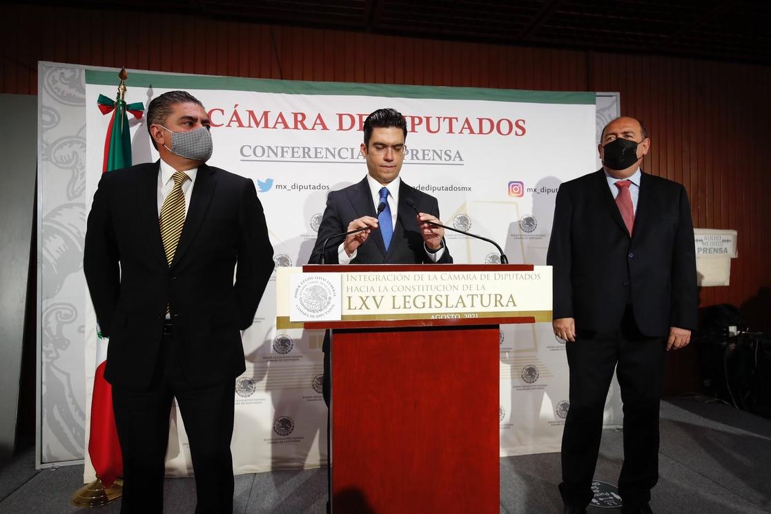 Ruben Moreira será quien presida Jucopo por el PRI el primer año en San Lázaro. PAN la encabezaría en el tercer año con Jorge Romero.