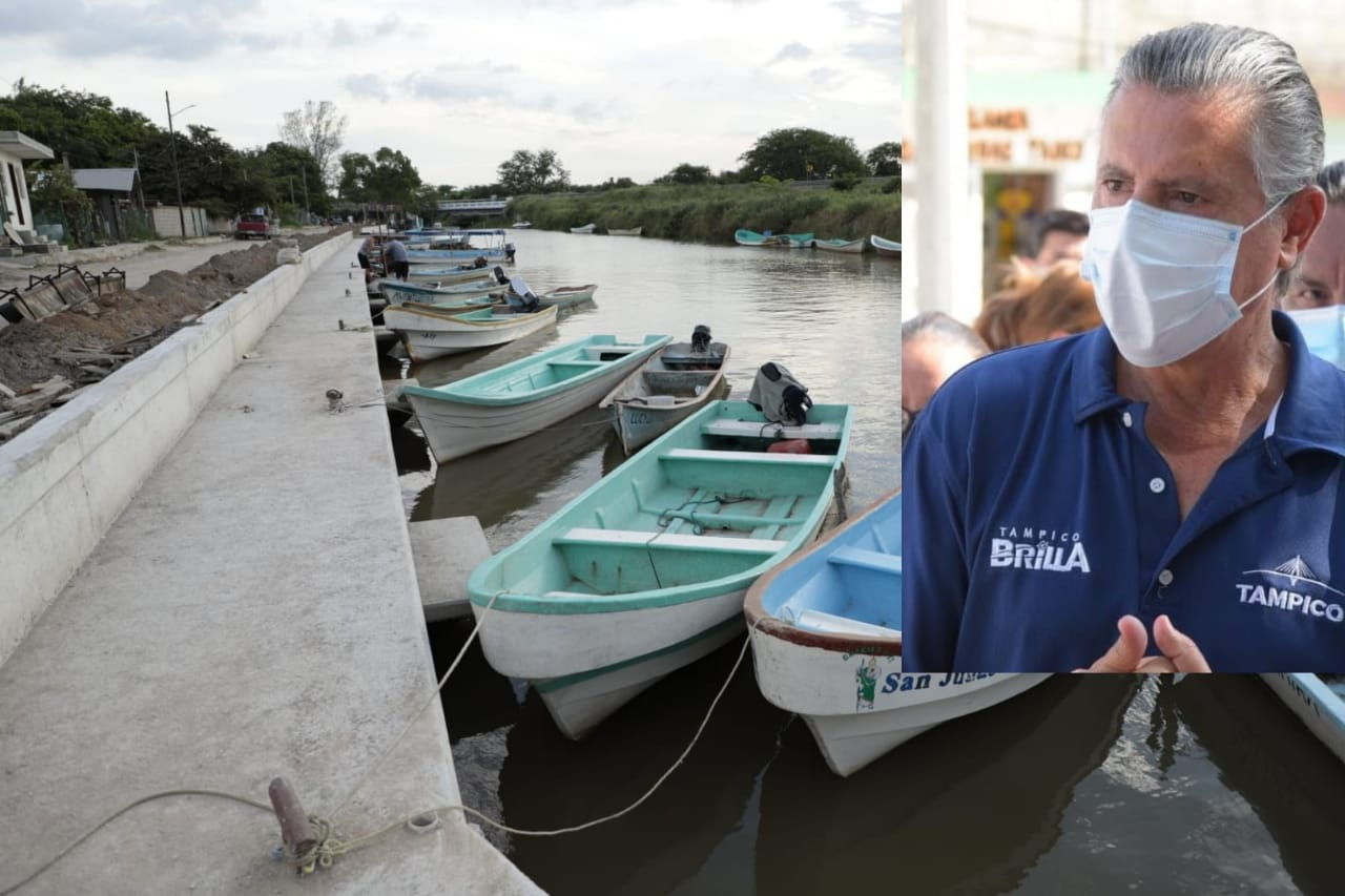 Invierte Tampico 2 millones en muelle y atracadero