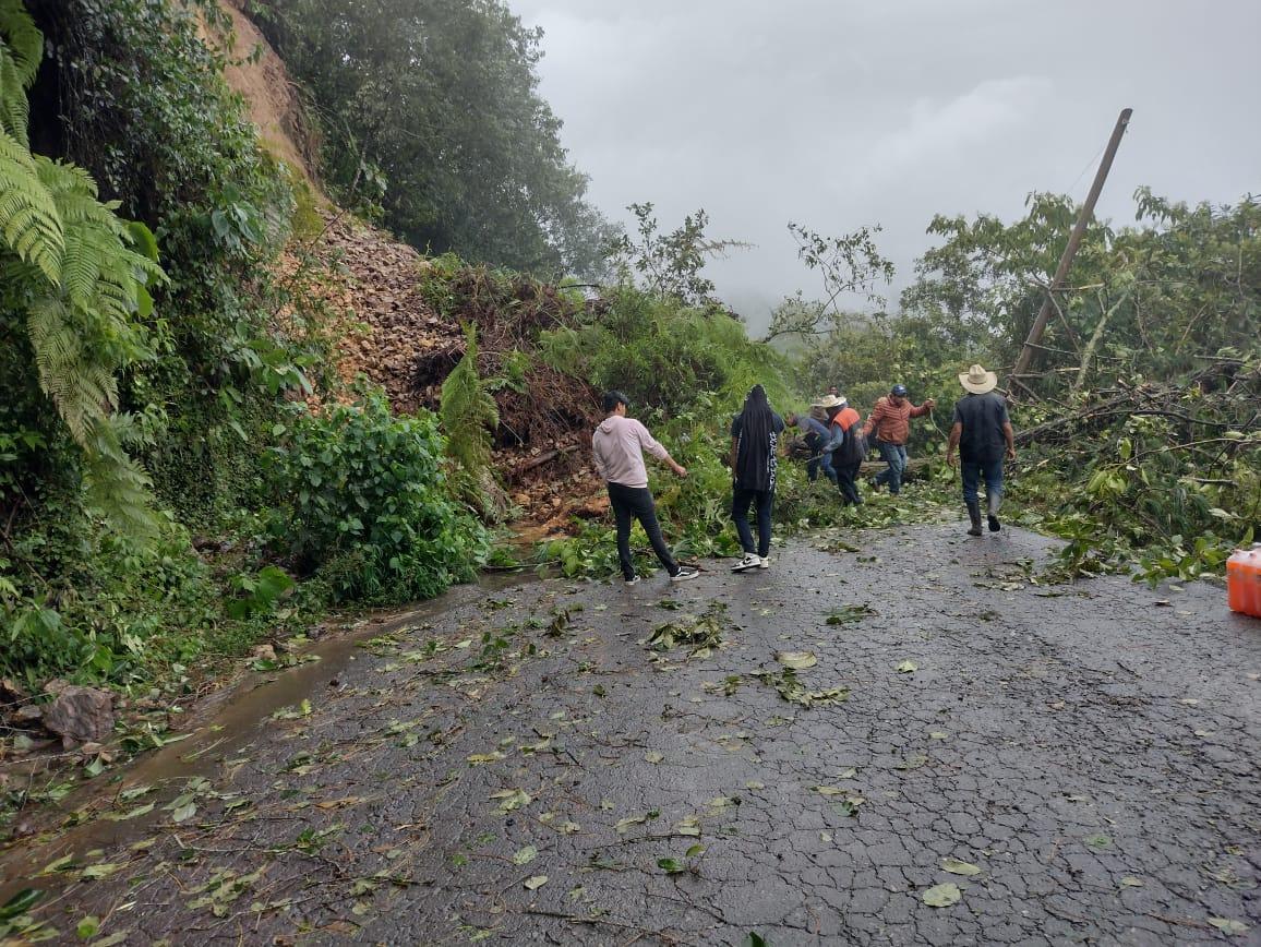 Huracán Grace en Puebla ha dejado cinco fallecidos