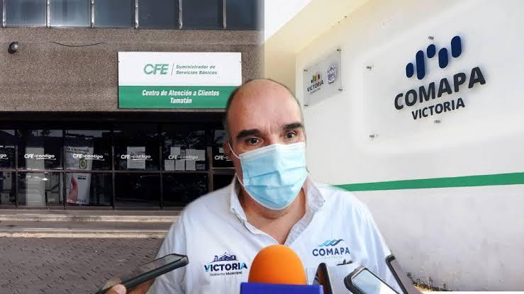Comapa Victoria denuncia a CFE