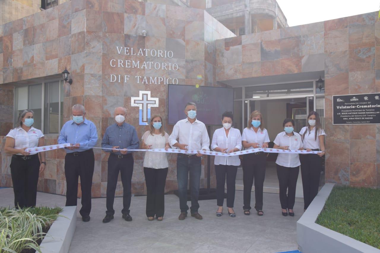 Inauguraron el crematorio de Tampico
