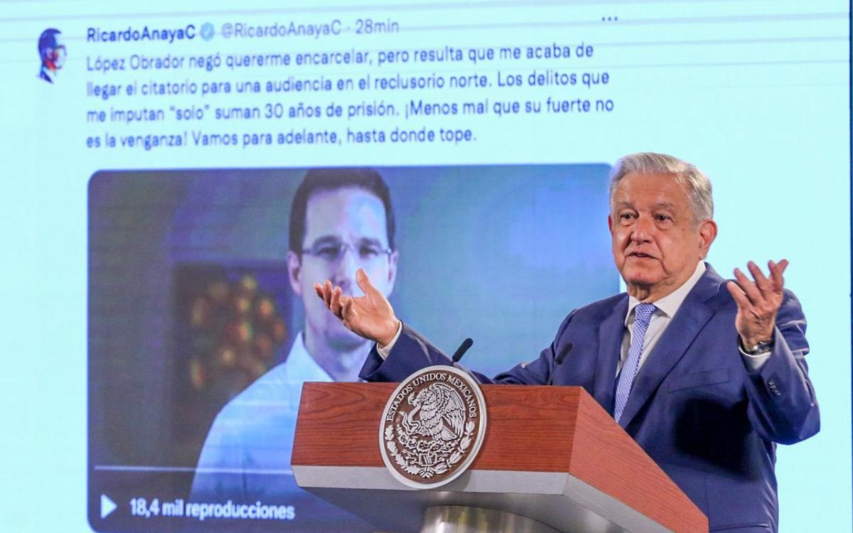 """""""Es un chueco, hipócrita"""" sentenció el presidente de la República López Obrador (AMLO) en contestación al último video de Ricardo Anaya."""