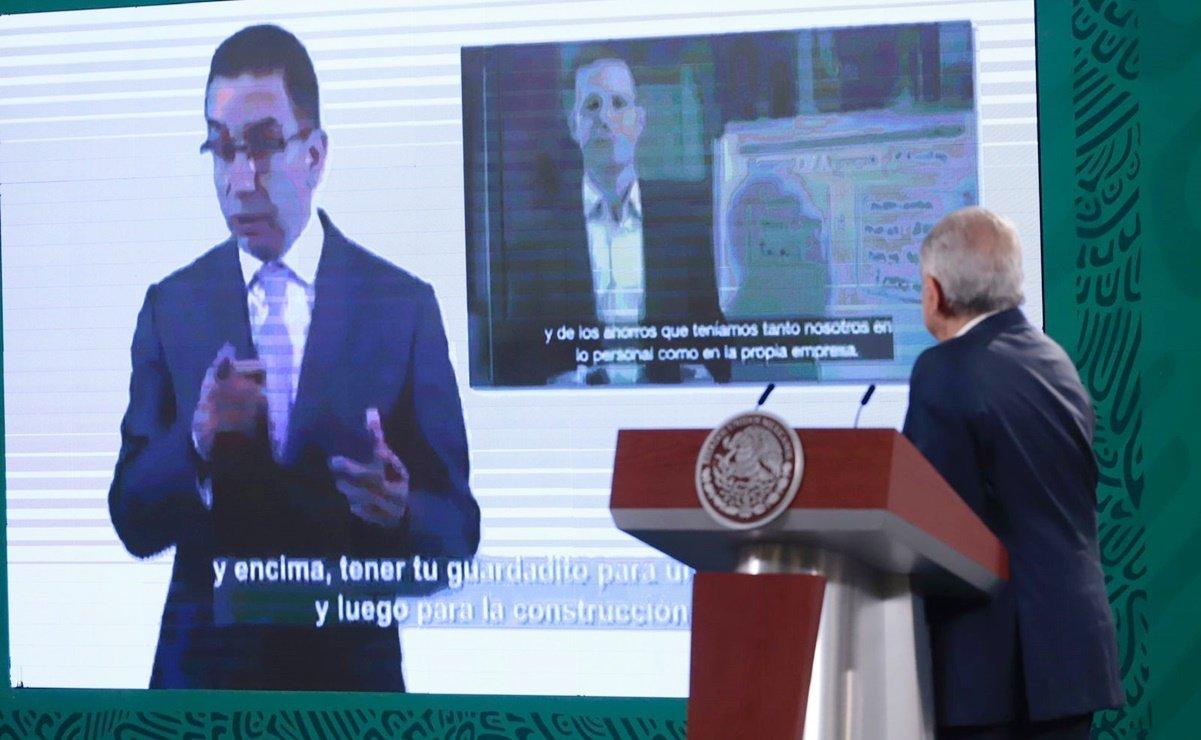 """""""Por lo demás, le agradezco la publicidad gratuita hacia mi persona, Andrés Manuelovich"""", escribió Javier Lozano en redes sociales."""