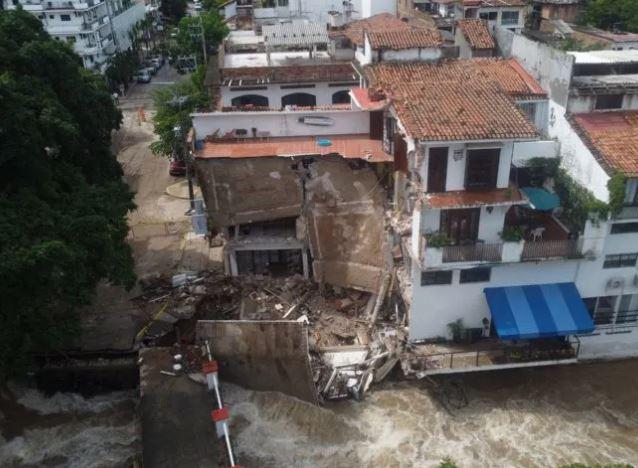 Daños que dejó el paso del huracán 'Nora'