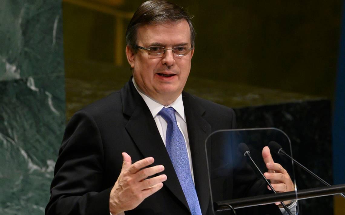 Marcelo Ebrard confirmó que México trabaja en una propuesta que funja como sustituto para la Organización de los Estados Americanos (OEA).