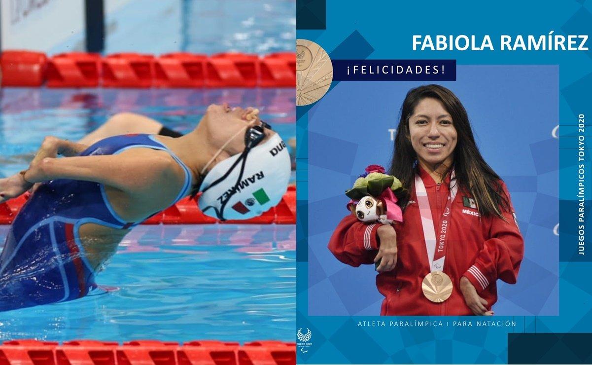 México obtuvo su primera medalla en los Juegos Paralímpicos gracias a Fabiola Ramírez, quien quedo en tercer lugar en los 100 metros dorso.