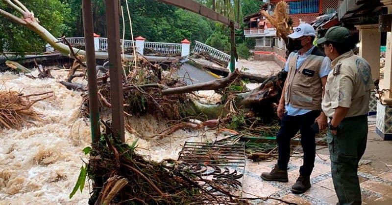 Localizan sin vida a menor desaparecido tras el paso del huracán Nora. El gobernador Alfaro, señaló que continúan las labores de búsqueda