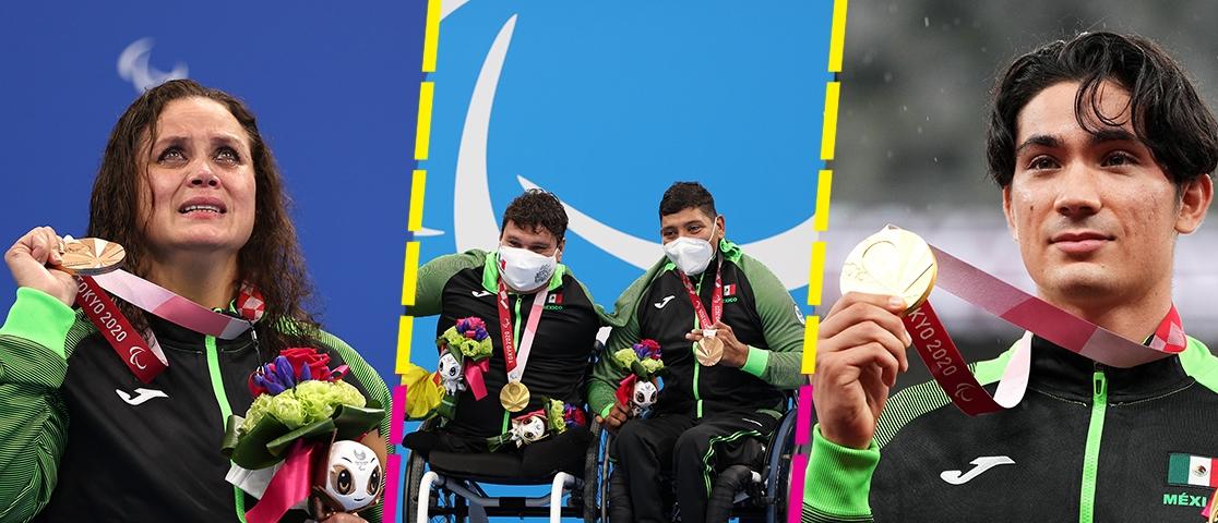 Atletas paralímpicos dan a México 4 medallas