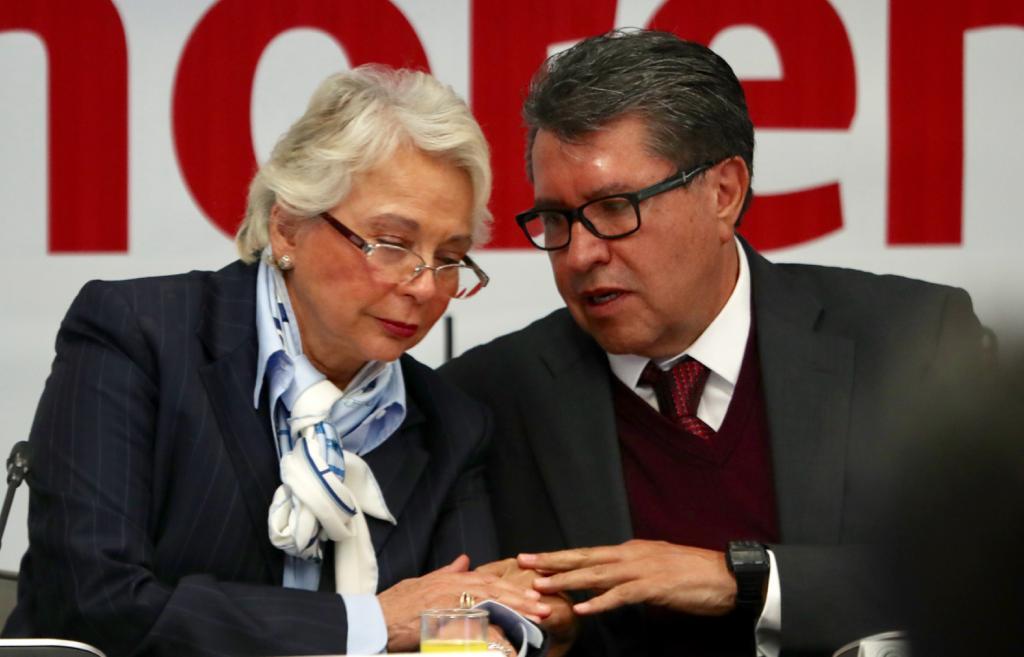 Mientras Olga Sánchez pide no modificar pregunta en consulta, el senador Ricardo Monreal manifestó su disposición a reformular.
