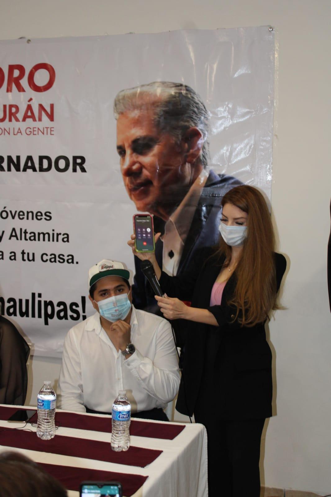 Rojas sufre persecución política