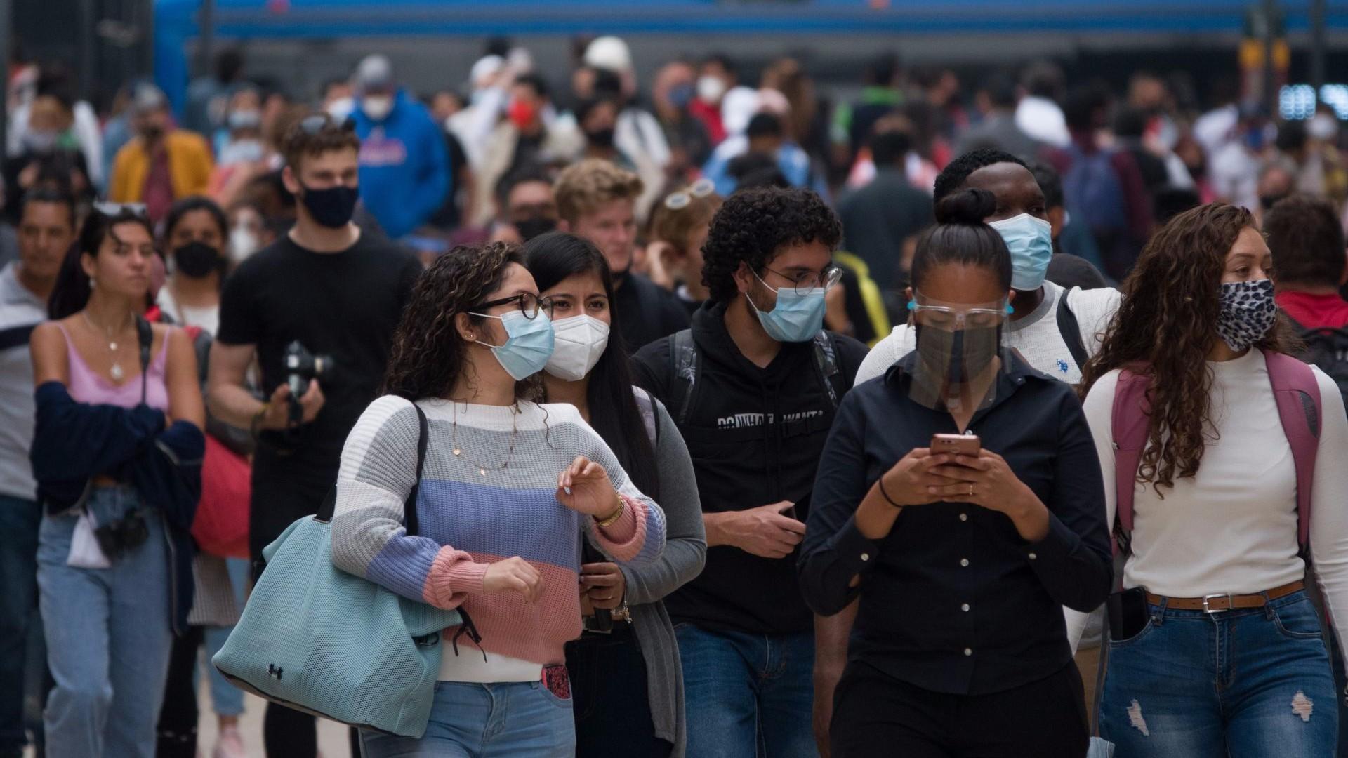 La SSA informó de más de 20 mil nuevos contagios en México este jueves, regresando a las cifras elevadas de las últimas dos semanas.