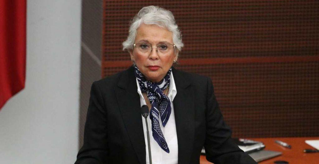 Sánchez Cordero al Senado