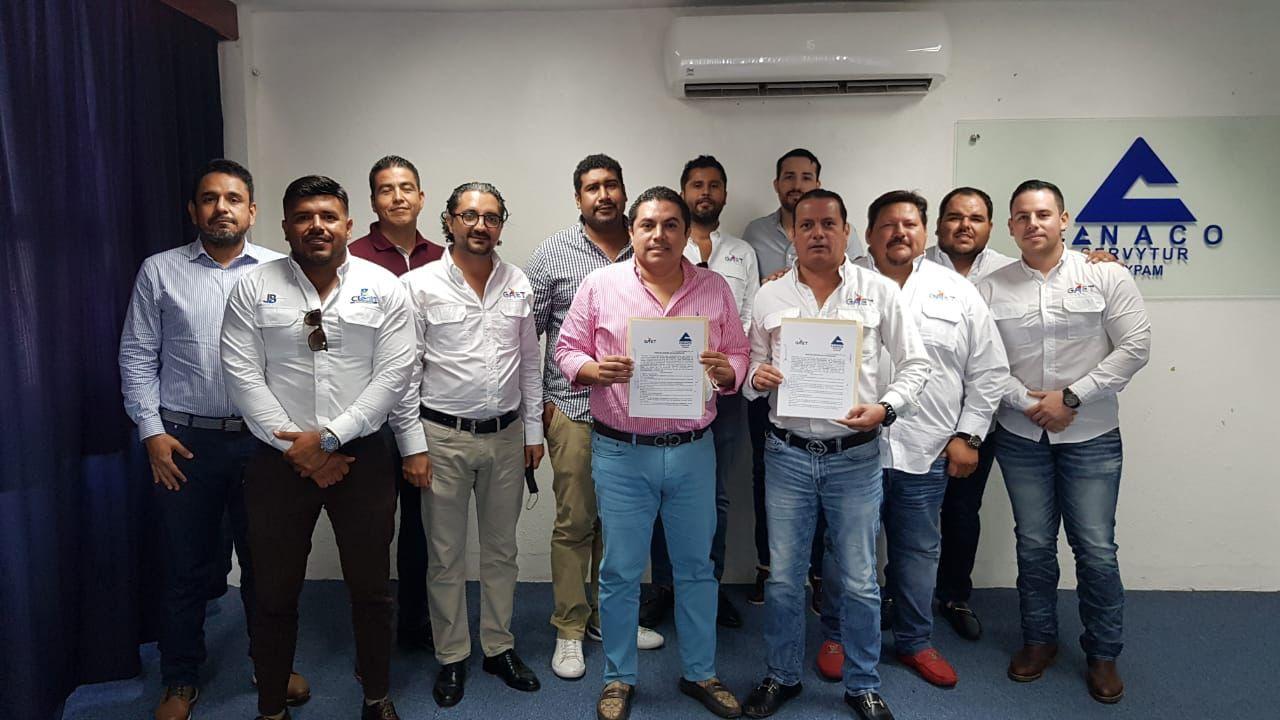 Firman colaboración empresarios de Tampico y Tuxpan