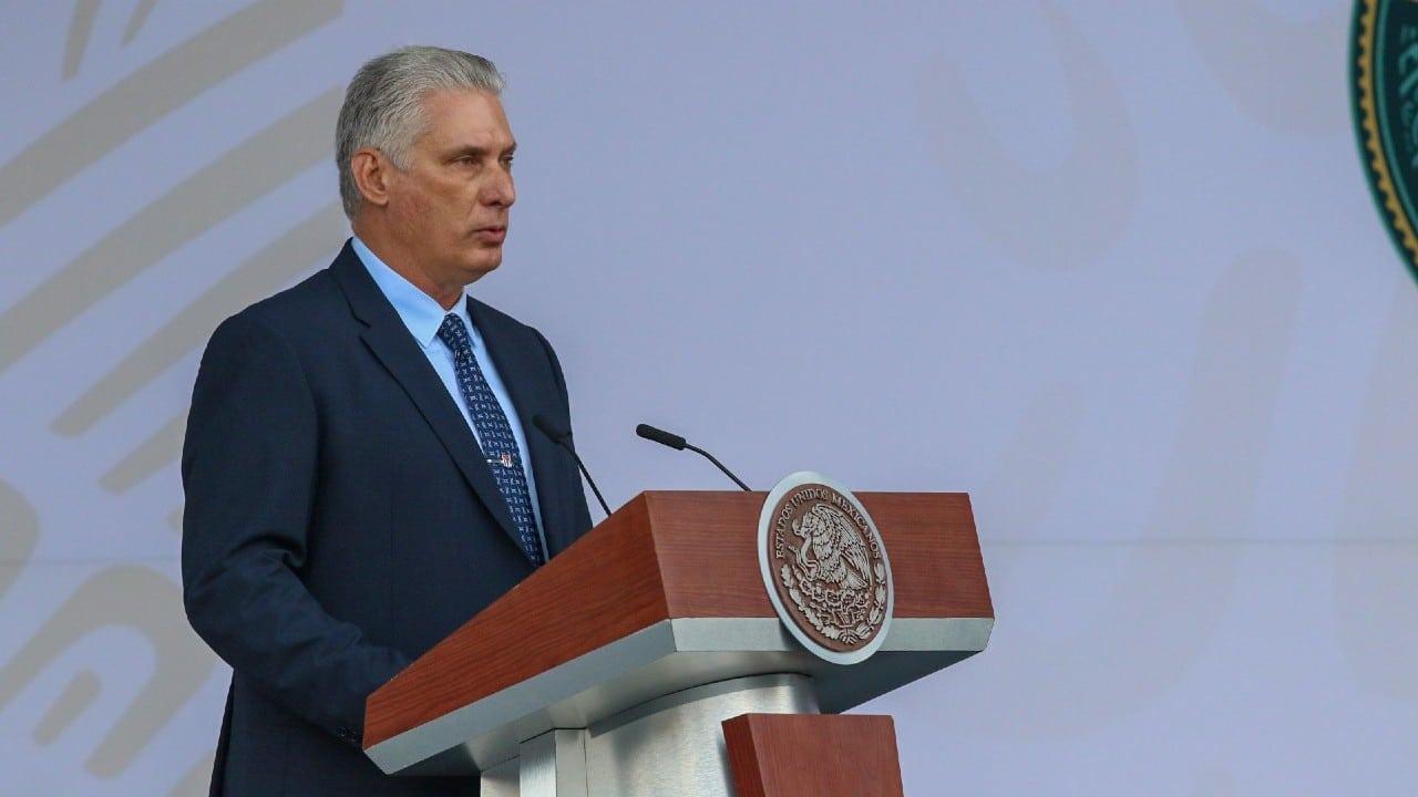 Durante su discurso en el desfile militar, el mandatario cubano, Miguel Díaz-Canel acusó a EE.UU. de ejercer un bloqueo criminal contra Cuba.
