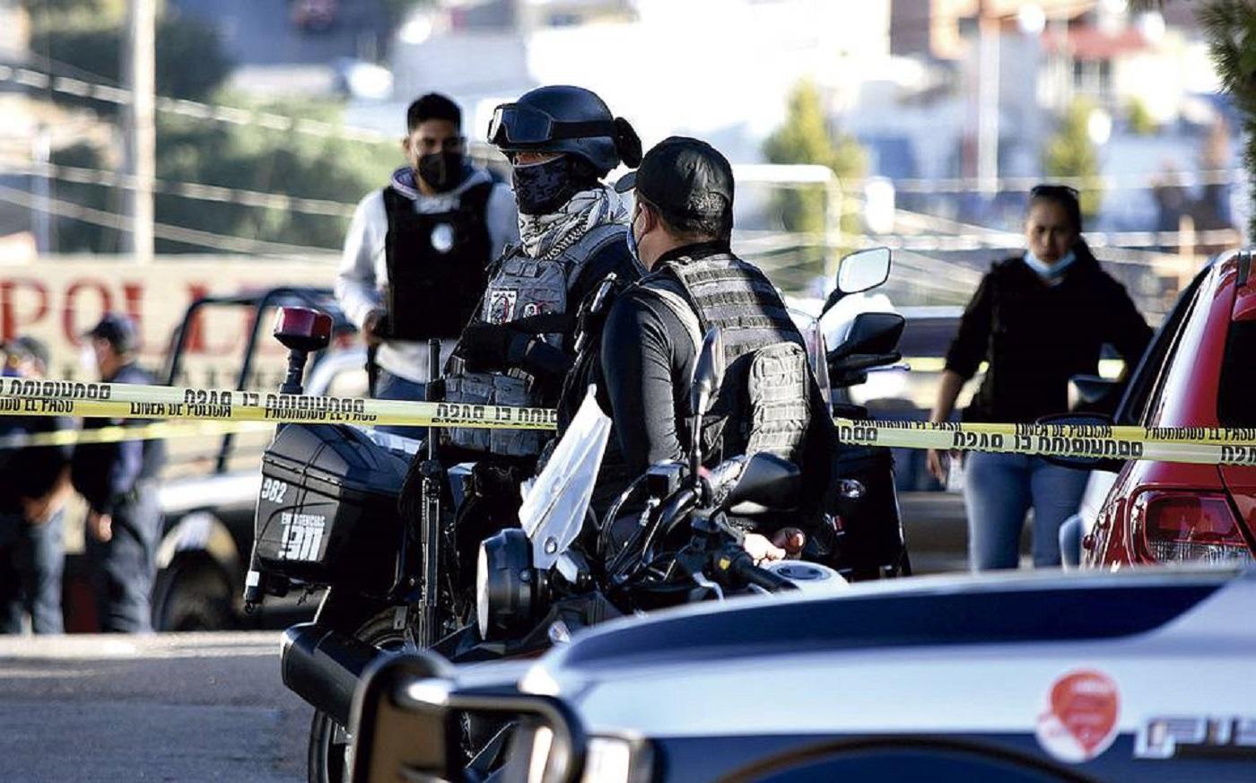 Matan a 4 policías durante
