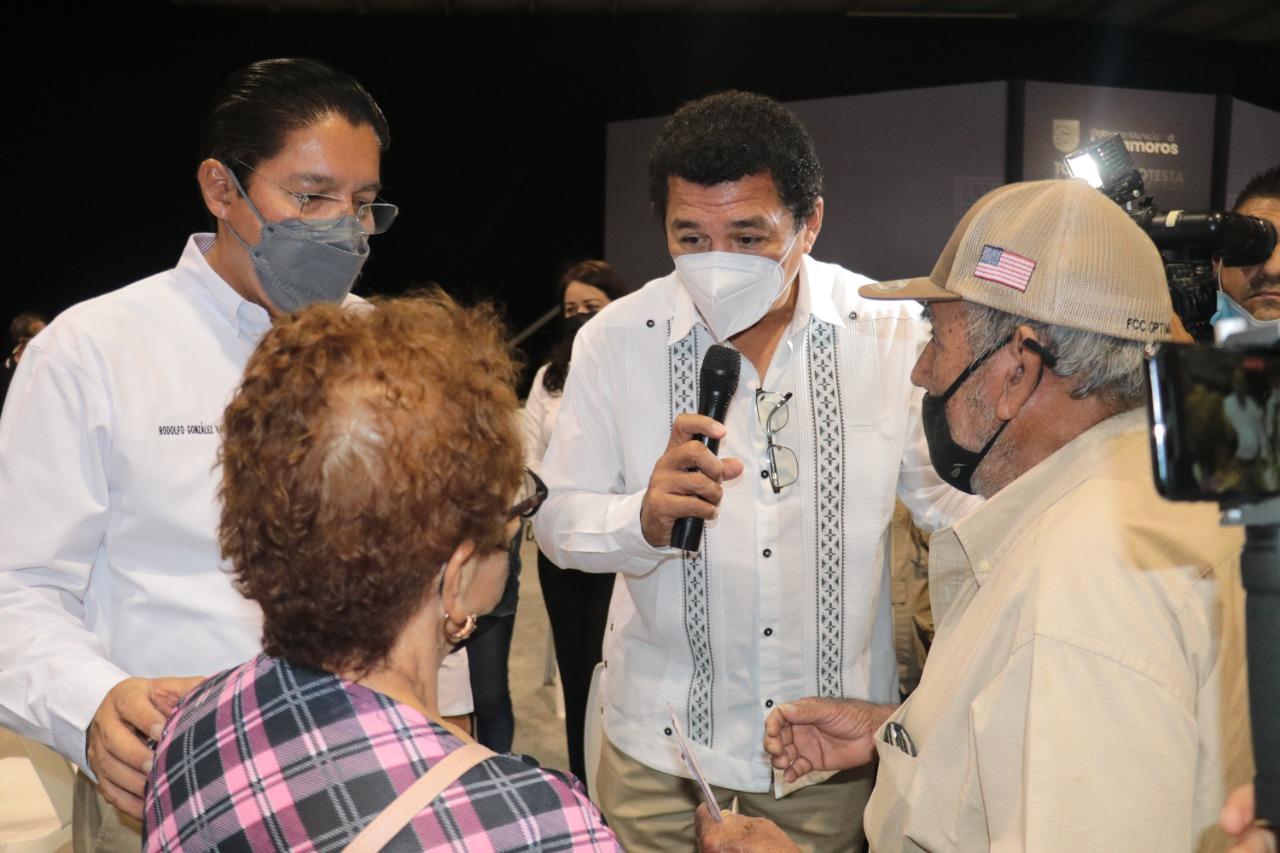 Alcalde de Matamoros servidor de la nación