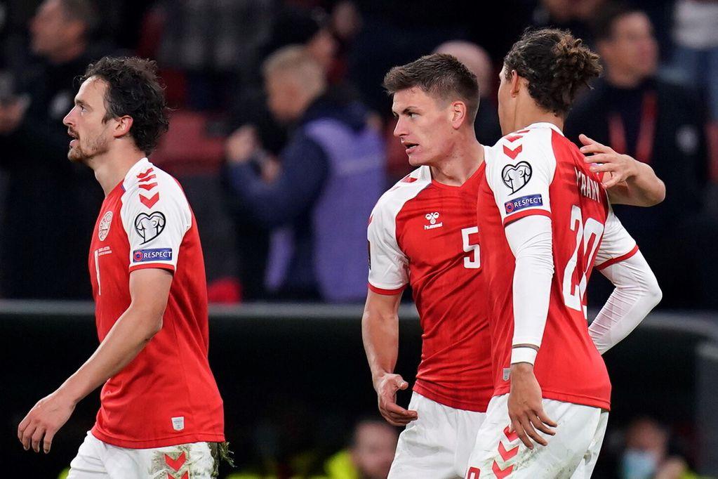 Dinamarca ya se clasificó al Mundial de Qatar 2022
