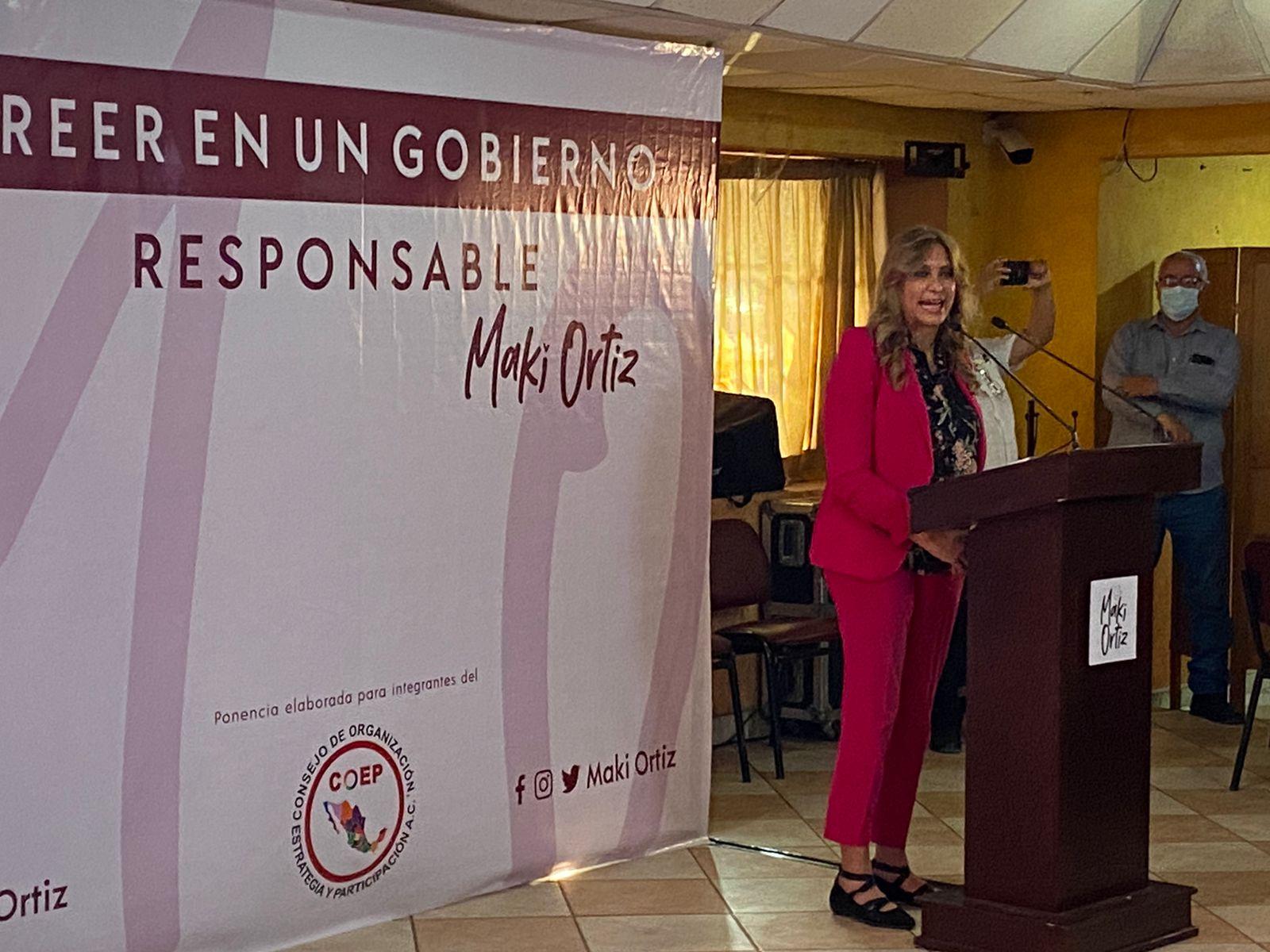 Maki Ortiz preparada para gobernadora
