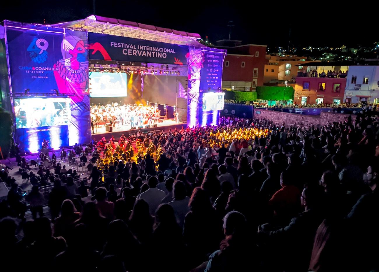 Festival Internacional Cervantino en Guanajuato