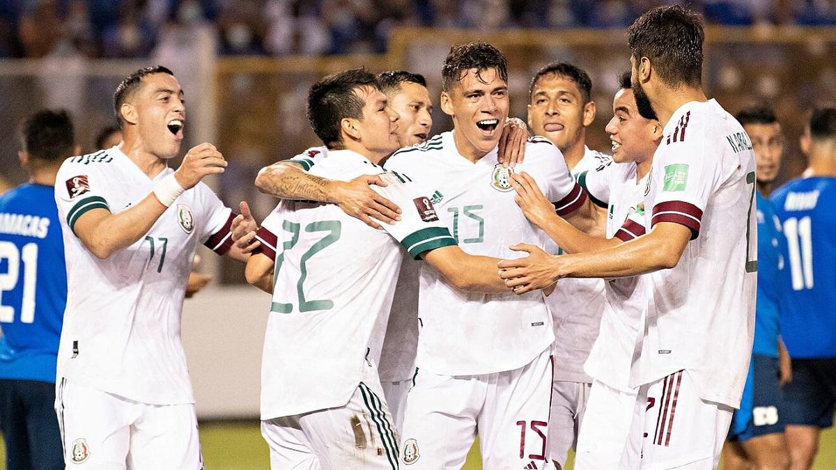 México vence a El Salvador