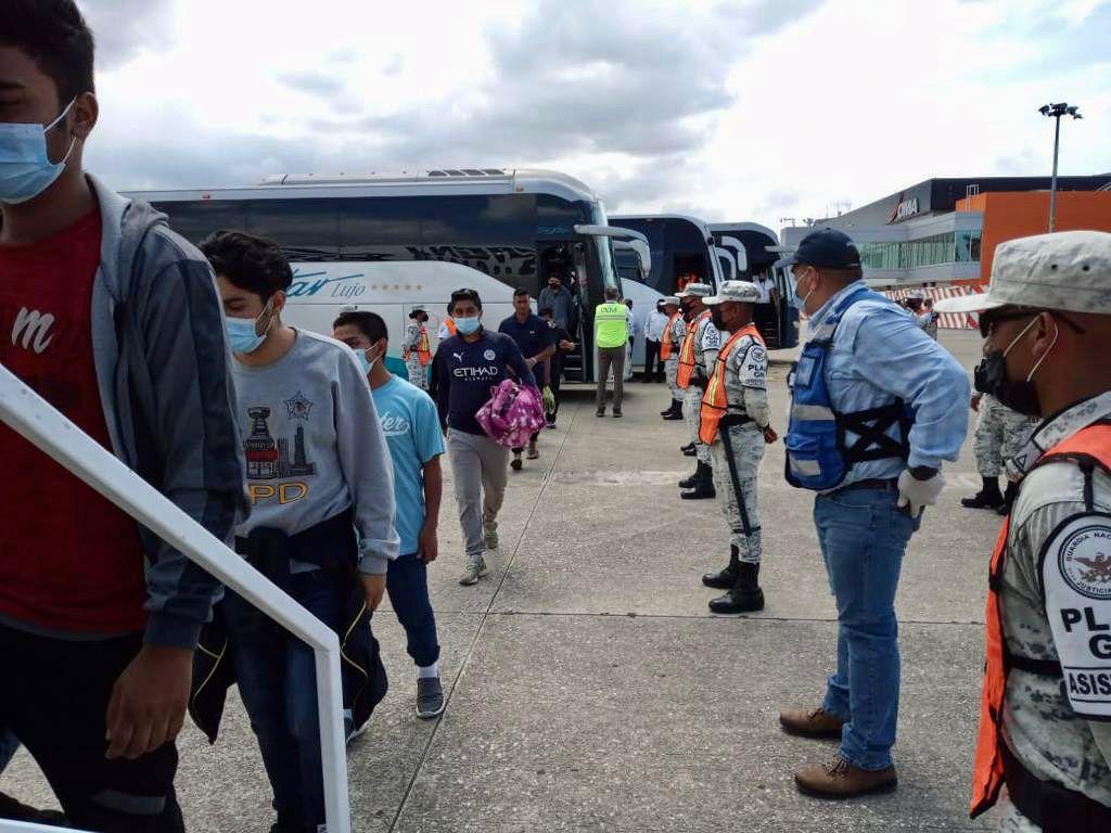 han repatriado desde Tampico