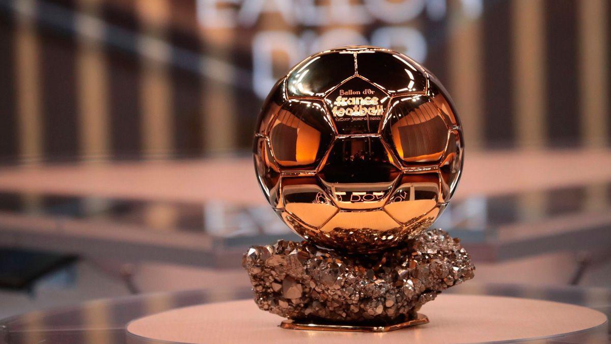 Los nominados al Balón de Oro.