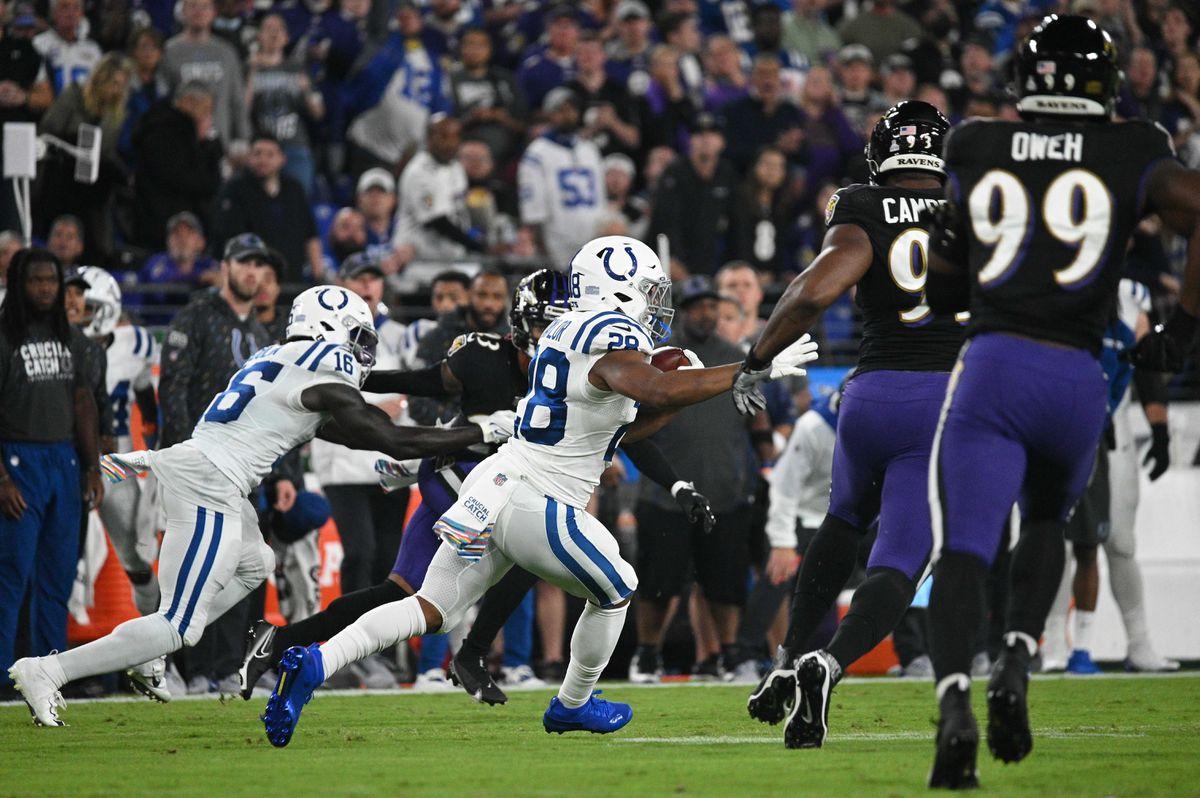 Ravens derrotó 31-25 a los Colts