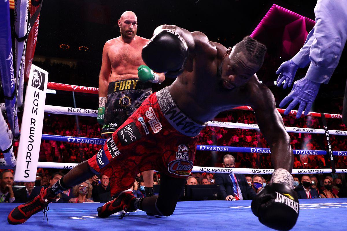Tyson Fury derrotó a Deontay Wilder