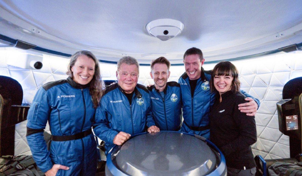 William Shatner viaja al espacio