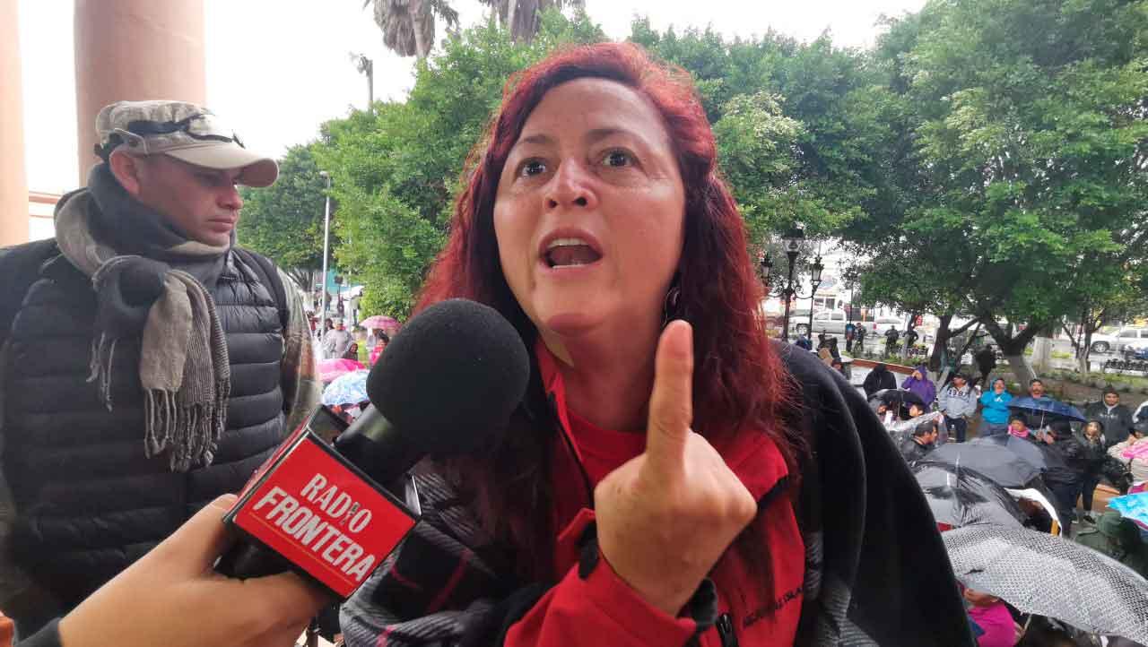 En entrevista, la diputada por Morena, Susana Prieto Terrazas, corrige la información dada por el presidente sobre el paro en Dos Bocas.