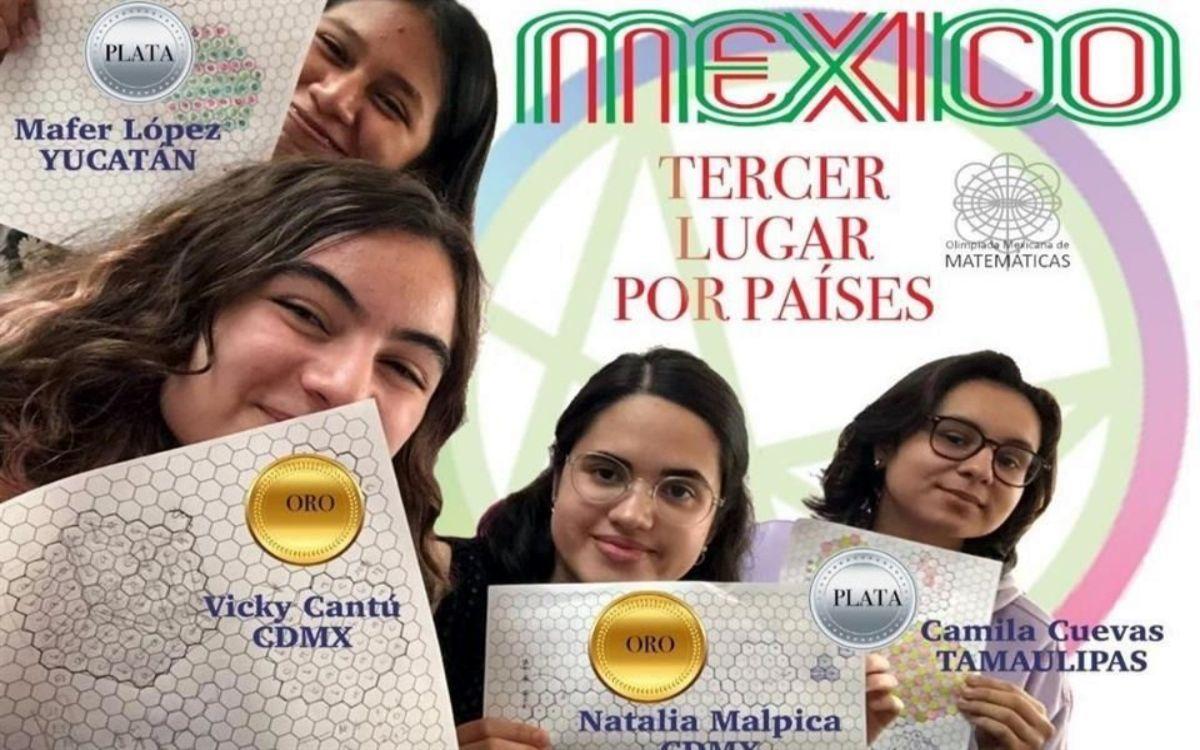 México en olimpiada de matemáticas