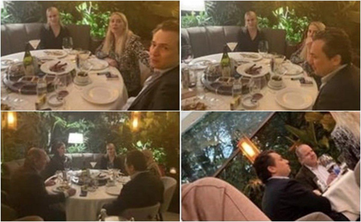 La periodista Lourdes Mendoza tomó fotografías de Emilio Lozoya en un restaurante de la Ciudad de México y relató como capturó estas fotos.