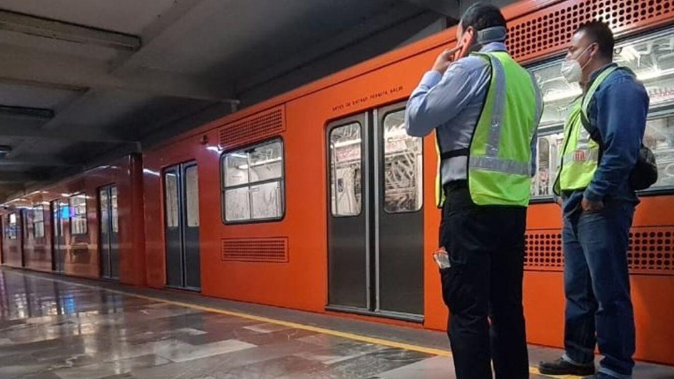 """""""falta colectiva"""" en el Metro"""
