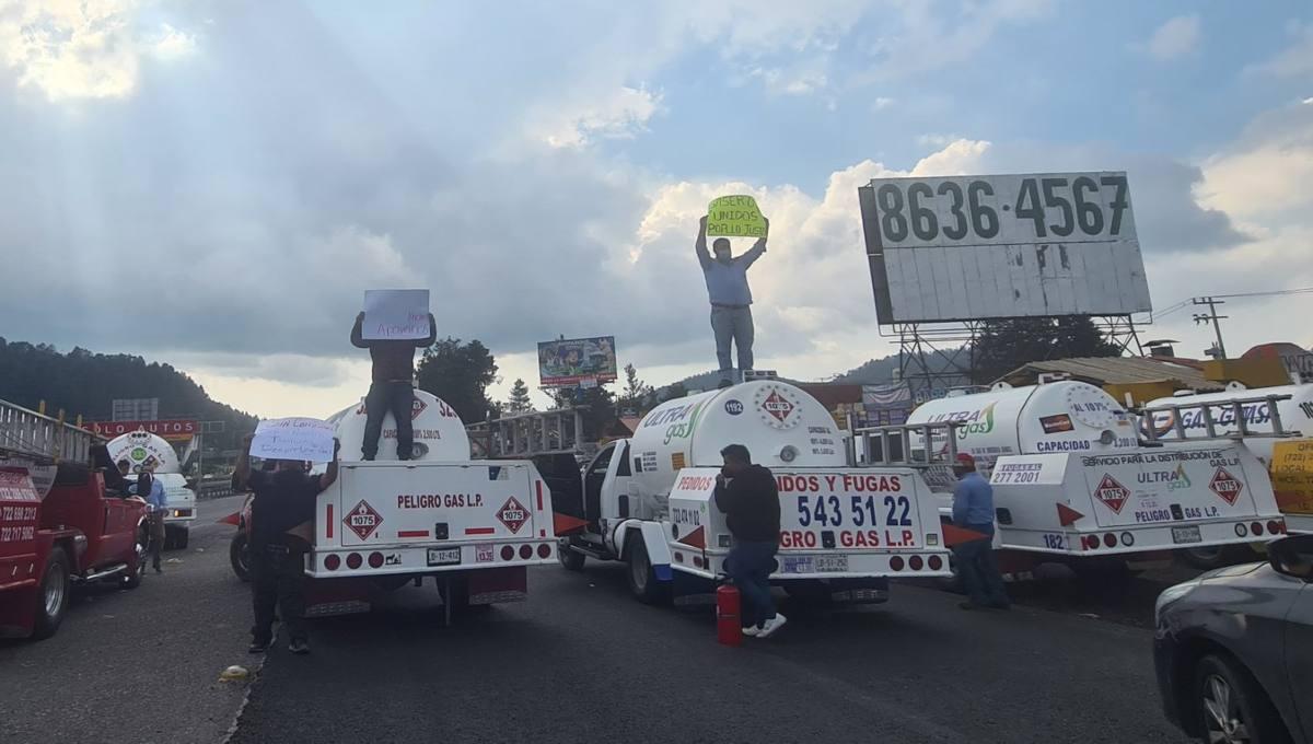 Al no tener resueltas sus demandas, el Gremio Gasero Nacional informó que se va a paro la distribución de gas LP en el Valle de México