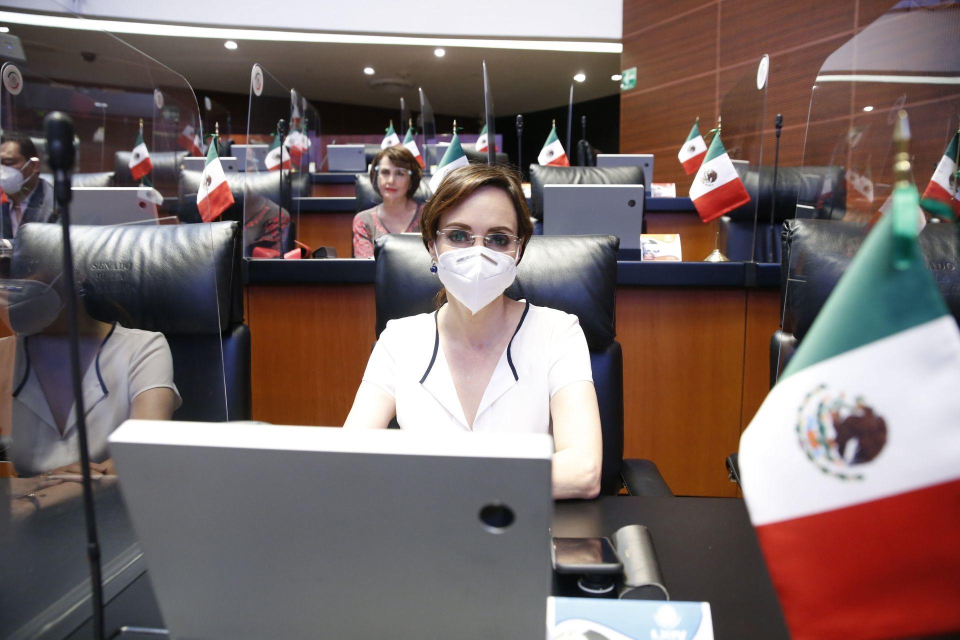 El titular de la SEGOB, Adán Augusto López, pidió garantizar la seguridad del hijo menor de la senadora del Partido Acción Nacional, Lily Téllez.