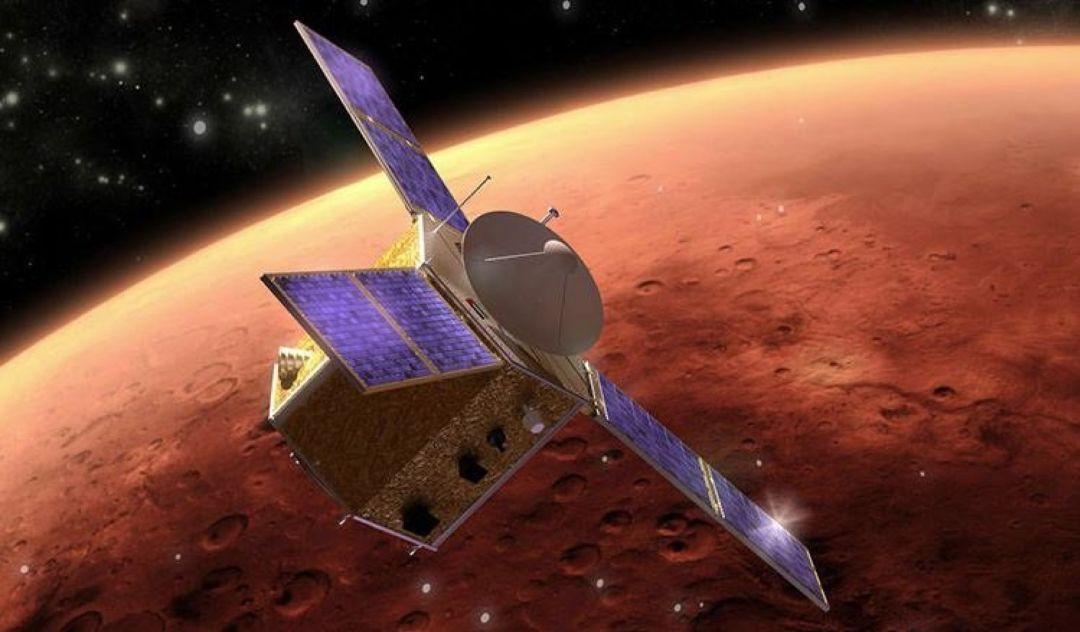 La sonda espacial Hope publicó nuevas imágenes de la atmósfera de Marte que revelarían altas concentraciones de oxígeno.